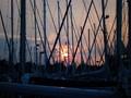 Abendstimmung im Yachthafen Heiligenhafen